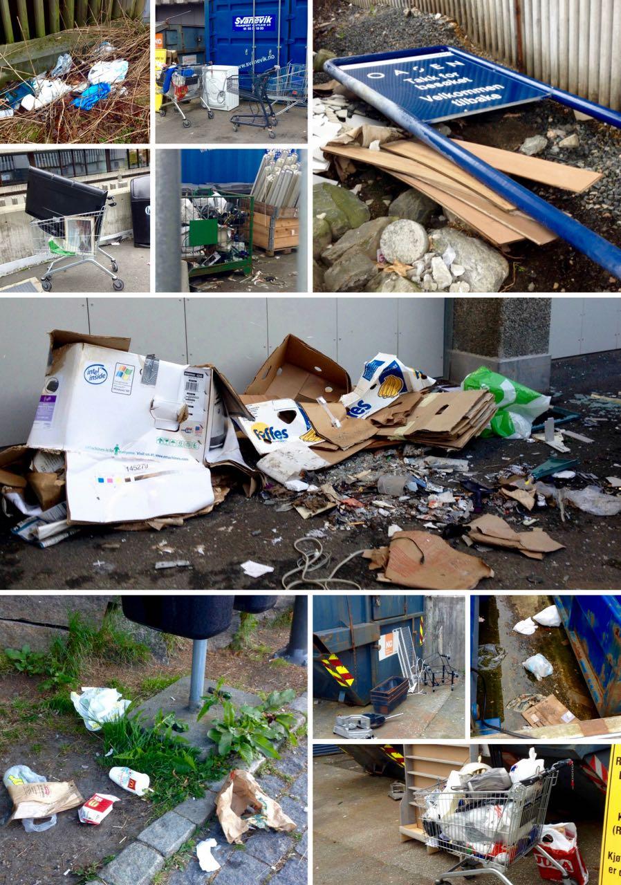 2 Boss og uorden på Oasen Senter i Fyllingsdalen Bergen