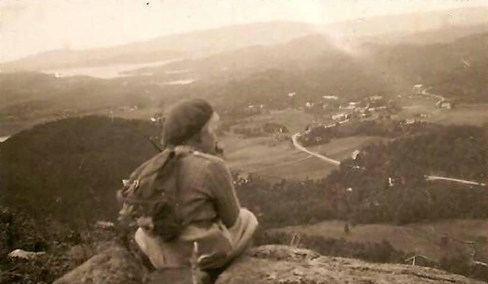 Utsikt over Fyllingsdalen i gamledager