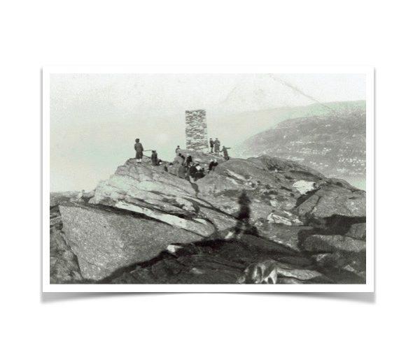 Varden på Løvstakkens topp